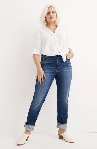 The High Rise Slim Boyfriend Jeans