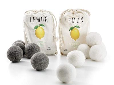 Lemon Wool Dryer Balls (12 Pack)