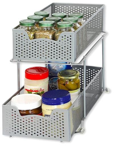 Simple Houseware Basket Organizer