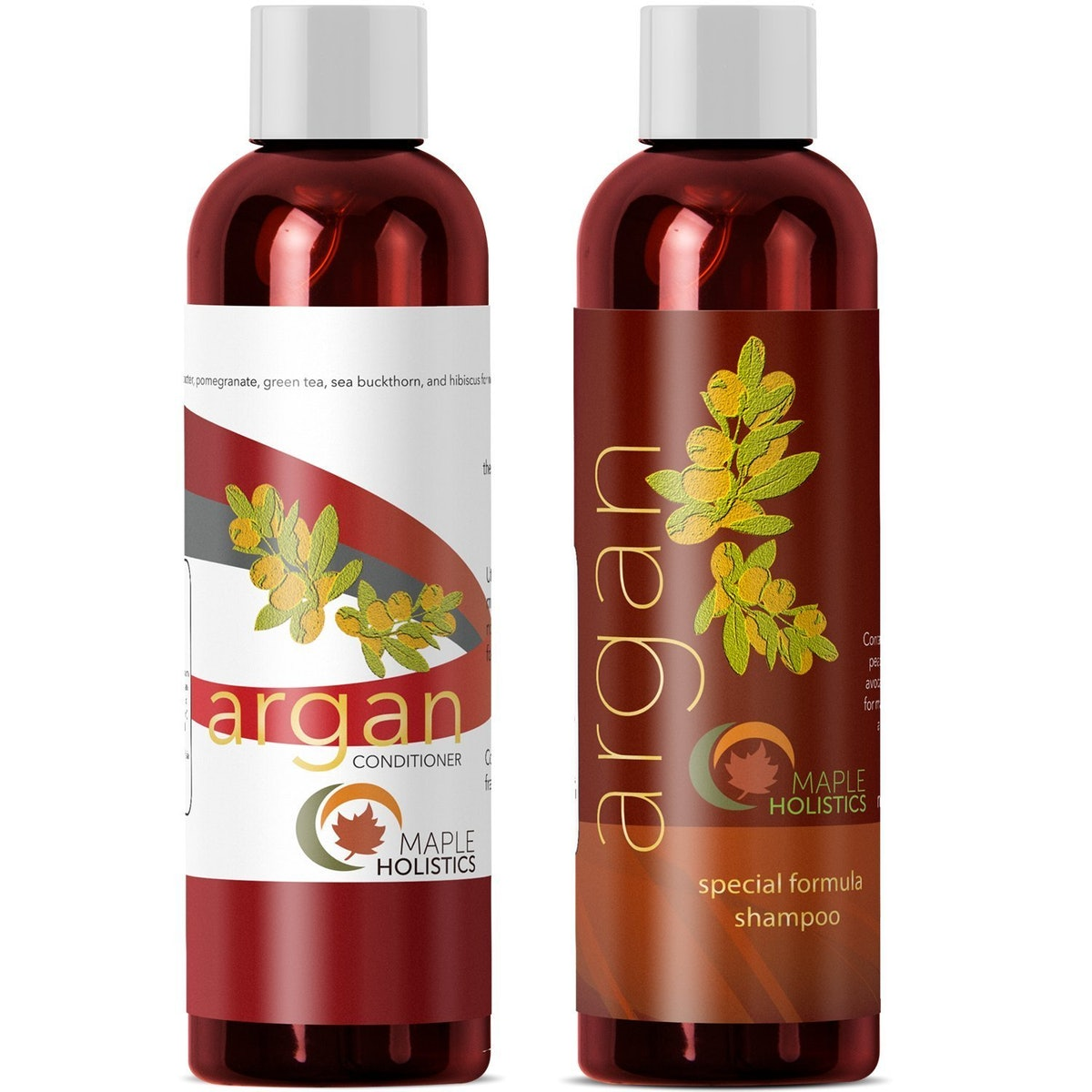Maple Holistics Argan Oil Shampoo And Conditioner Set