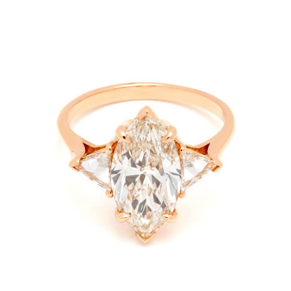 Marquise Bea Rose Gold Diamond Ring