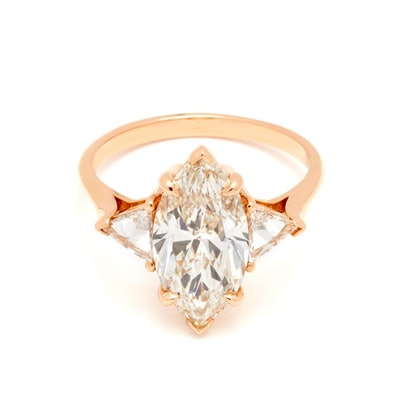 Marquise Bea Rose Gold Diamond Ring