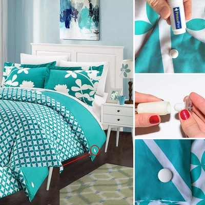 PinionPins Magnetic Duvet Clips (8 Pack)