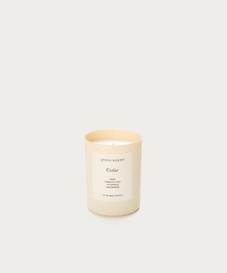 Cedar Matte Glass Candle