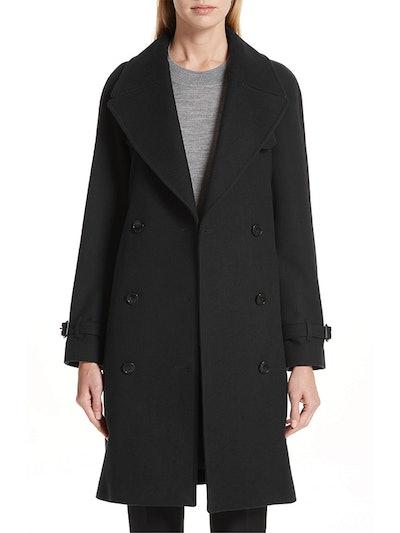 Cranston Wool Blend Trench Coat