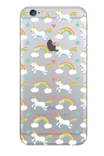 Apple iPhone 8/7/6s/6 Case Unicorn/Rainbows