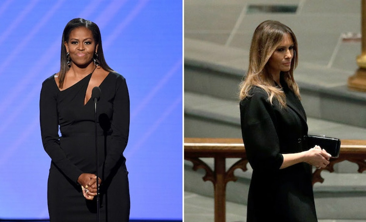 Melania Trump Apparently Turned Down Michelle Obama's Offer For Advice, Which, Um, What?