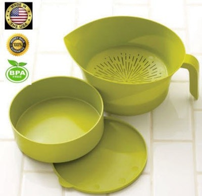 Easy Greasy 3-Piece Strainer Set