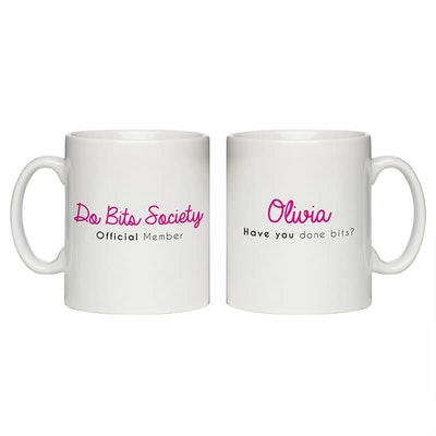 Personalised Do Bits Society Member Mug