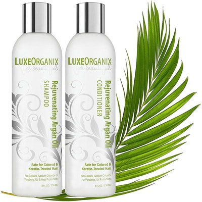 LuxeOrganix Moroccan Argan Oil Shampoo and Conditioner