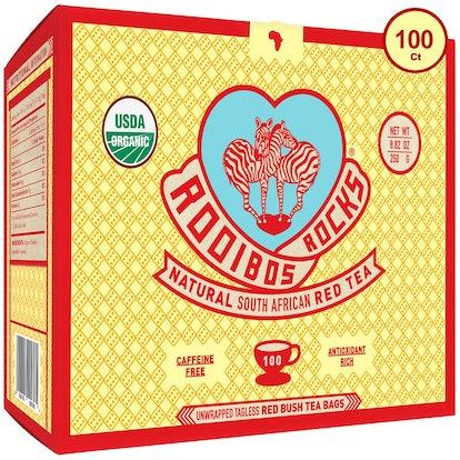 Rooibos Rocks Organic Tagless Teabags, 100 Pack