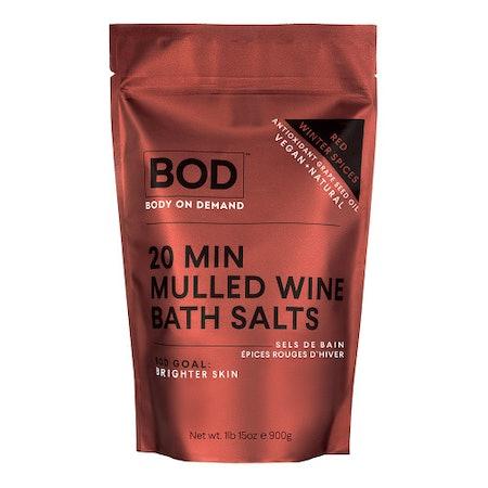 Bod 20 Min Mulled Wine Bath Salts