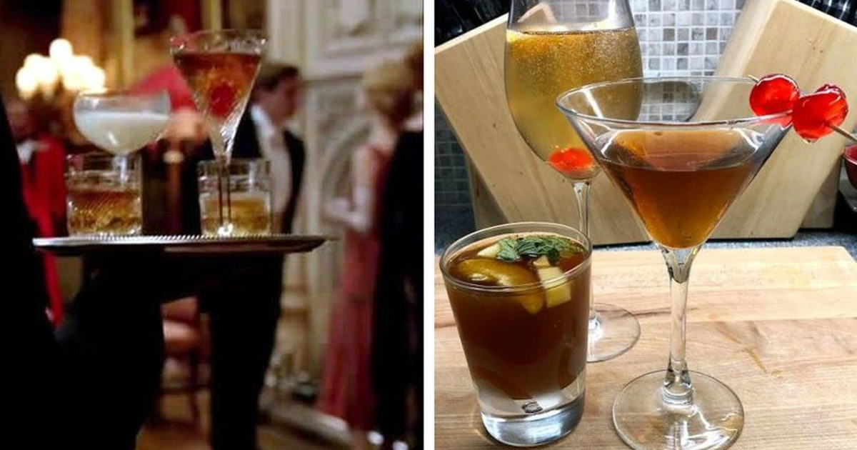 I Tried Making 'Downton Abbey' Cocktails & They're The Perfect Addition To Your Holiday Gathering