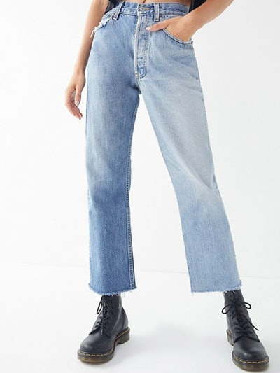 Remade Levi's 50/50 Straight Jean