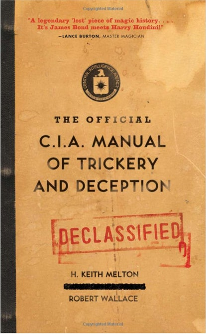 The Official C.I.A Manual of Trickery And Deception