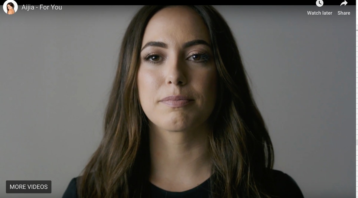 How The Christine Blasey Ford Testimony Inspired Singer Aijia To Make A Powerful Music Video About #MeToo — WATCH