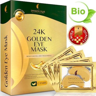 SWISSÖKOLAB Gold Undereye Masks