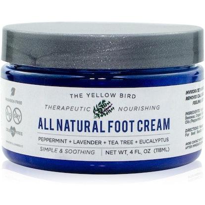 The Yellow Bird Foot Cream