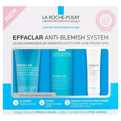 La Roche-Posay Effaclar 3-Step Anti-Blemish Kit, previously £32.49
