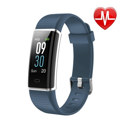LETSCOM, Fitness Tracker and Heart Rate Monitor Watch