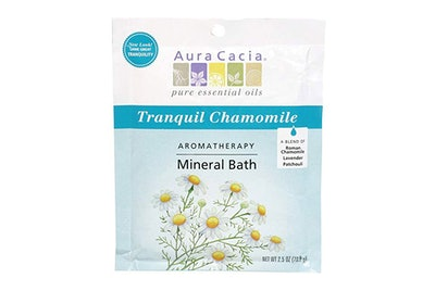 Aura Cacia Aromatherapy Mineral Bath Packets, Tranquil Chamomile (Pack Of 3)