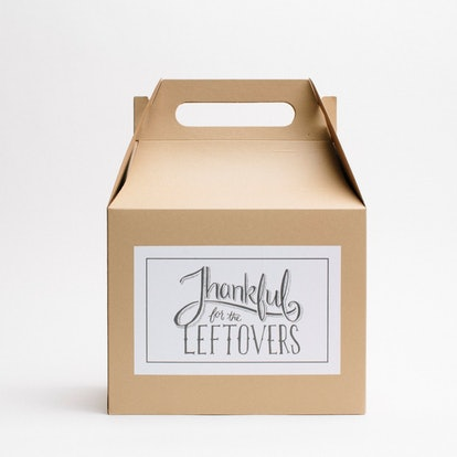 Thanksgiving Take Home Box