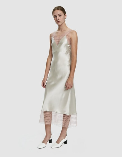Long Tail Slip Dress