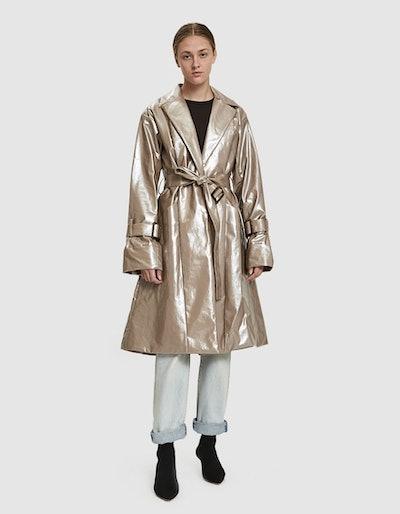 Coated Trench Coat