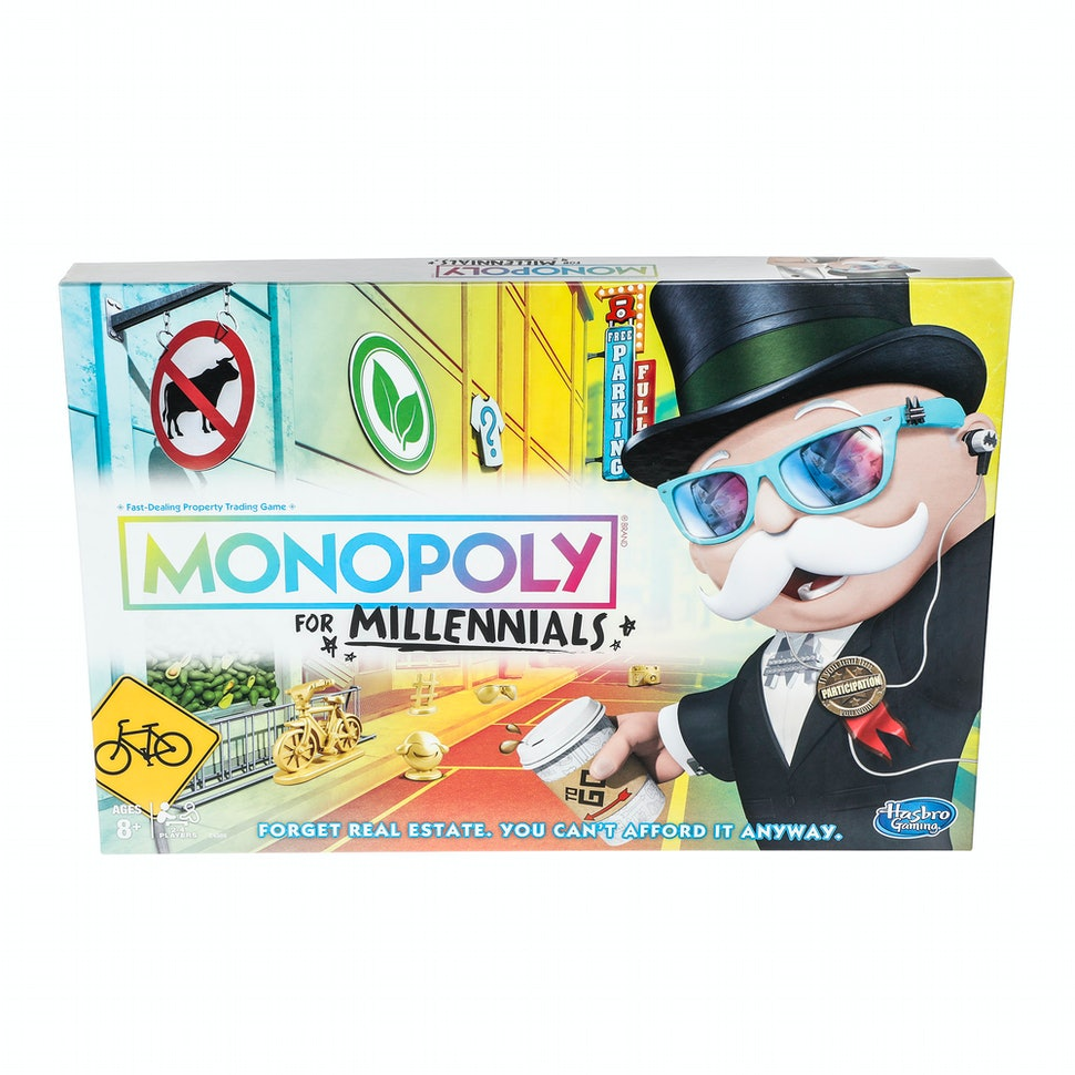 Image result for monopoly for millennials