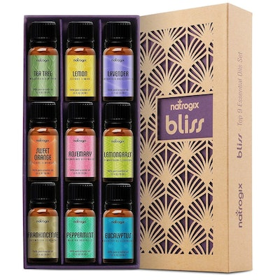 Natrogix Bliss Essential Oils (Set of 9)