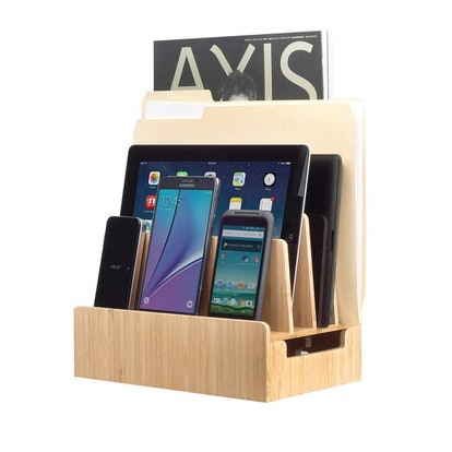 MobileVision Bamboo Charging Station