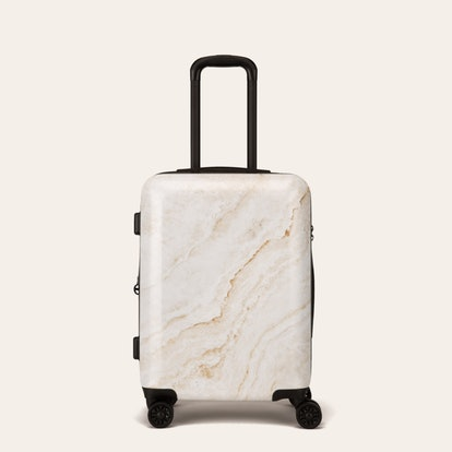 Gold Marble Carry-On Luggage