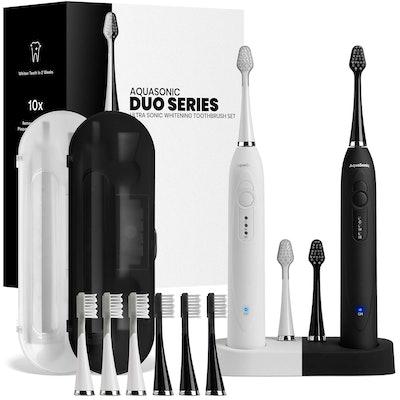 AquaSonic DUO Electric Toothbrushes