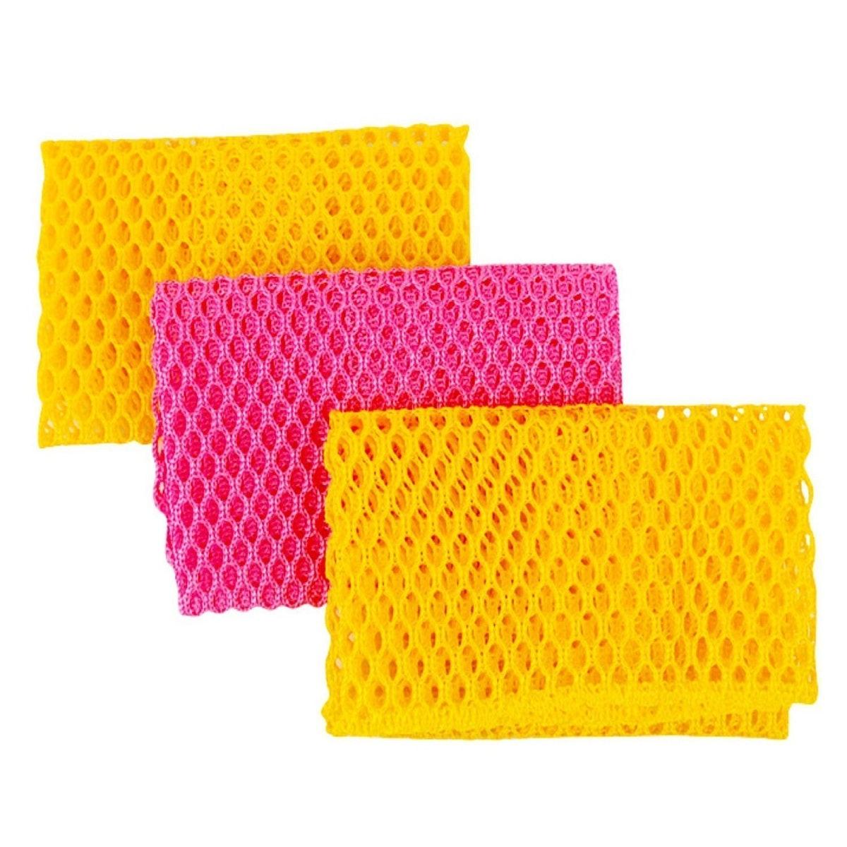 Top Clean Net Dishwashing Cloths (3-Pack)
