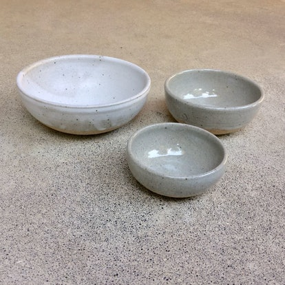 Set Of Clay Nesting Bowls