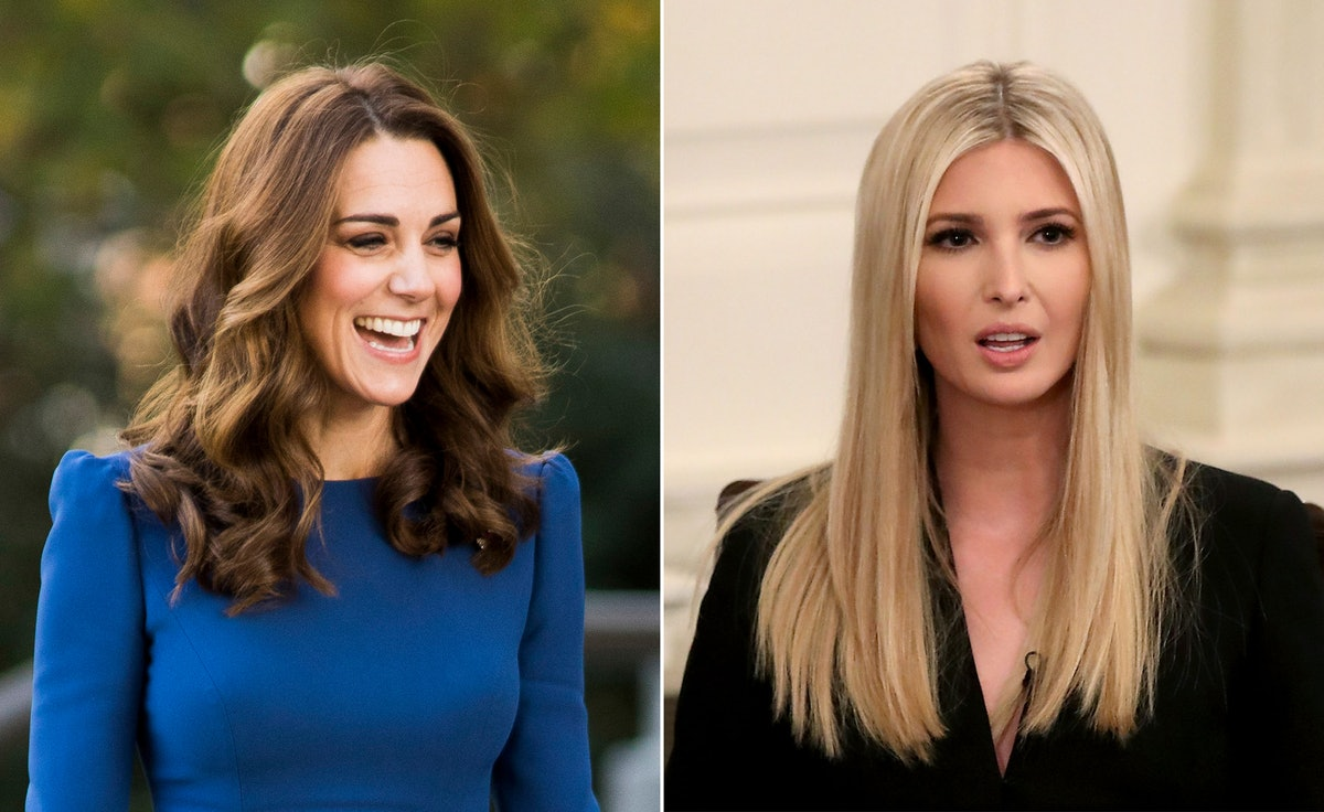 Kate Middleton's Alessandra Rich Dress Was Also Worn By Ivanka Trump, But She Actually Saw It Here First