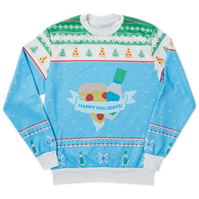 Blue Holiday Sweatshirt