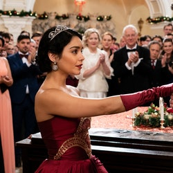 Vanessa Hudgens as Stacy in The Princess Switch