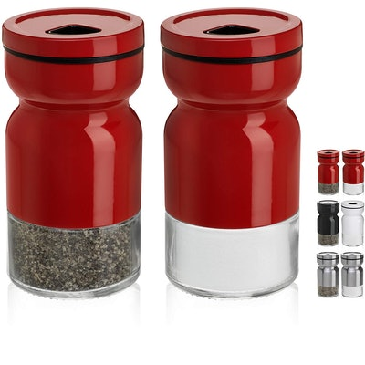 CHEFVANTAGE Salt and Pepper Shakers (Set of 2)