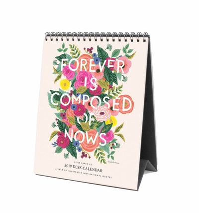 2019 Inspirational Quote Everyday Desk Calendar