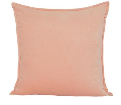Maxen Velvet Pillow, Peach