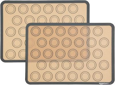 AmazonBasics Silicone Baking Mat (2 Pack)
