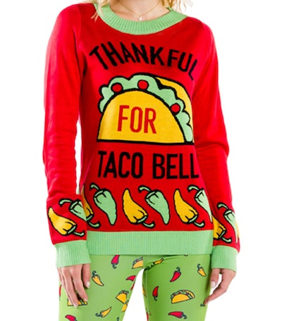 Taco Bell X Tipsy Elves Sweater