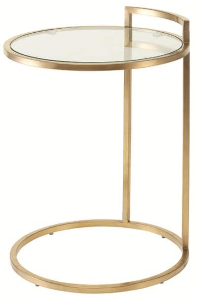 Bella Side Table, Gold