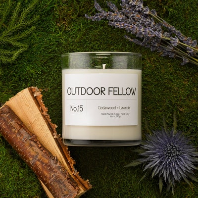 No.15 Cedarwood + Lavender Candle