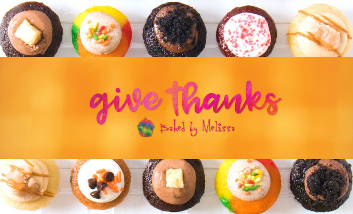 Baked By Melissa's Give Thanks & Friendsgiving Packs Are Perfect For Your Turkey Feast