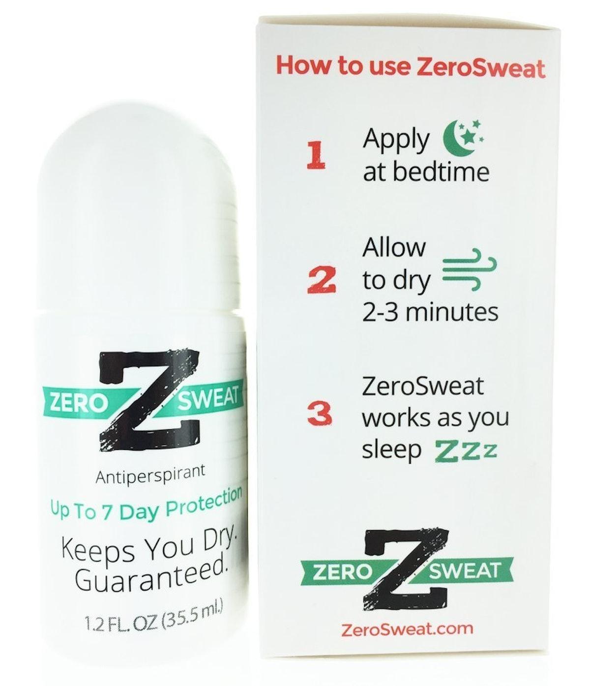 ZeroSweat Antiperspirant