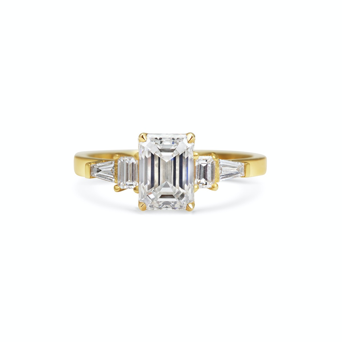 Art Deco Baguette Diamond Ring