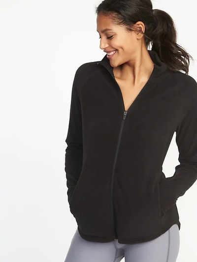 Semi-Fitted Zip Performance Fleece