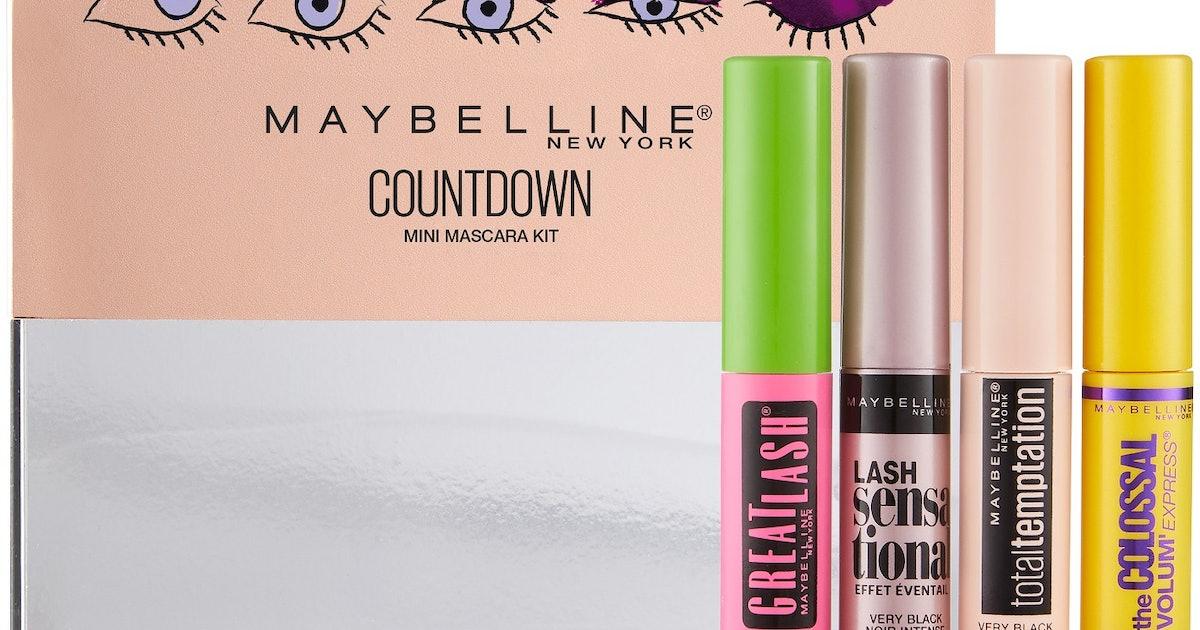 Maybelline Countdown Mini Mascara Kit